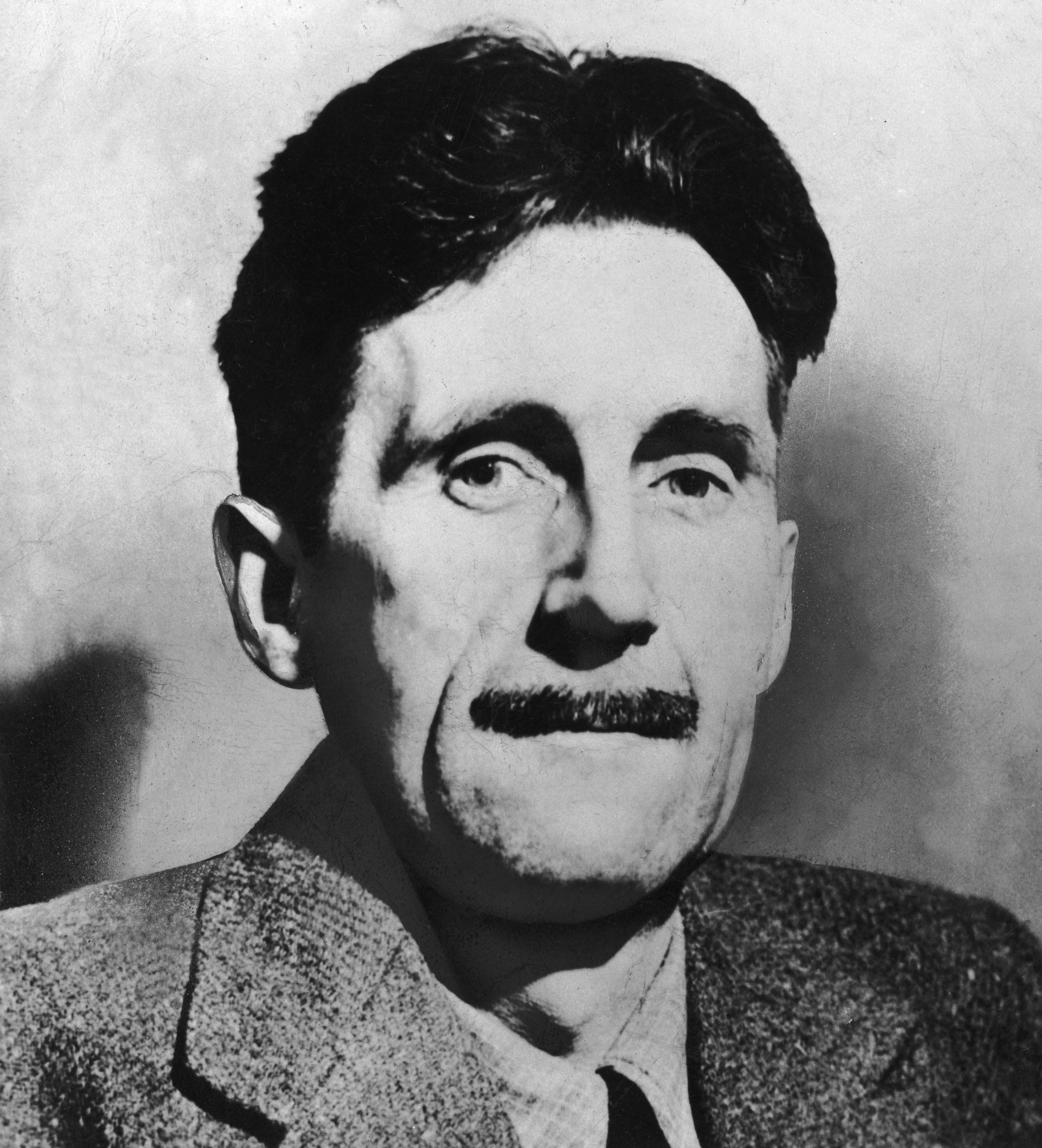 george orwell's face