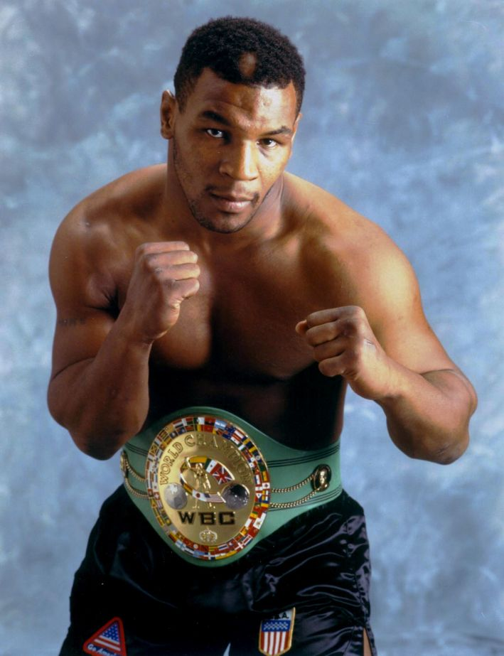 Mike tyson was an addict