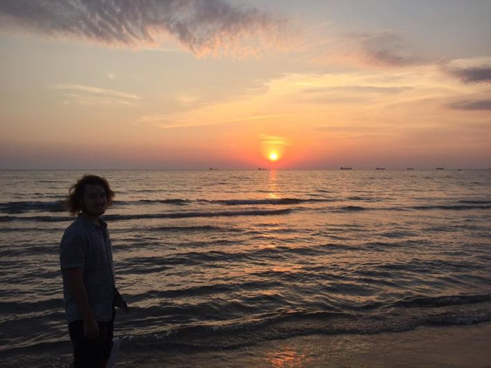 I saw many of the best sunsets of my life on the Mediterranean Sea in Durrës, Albania in 2016.